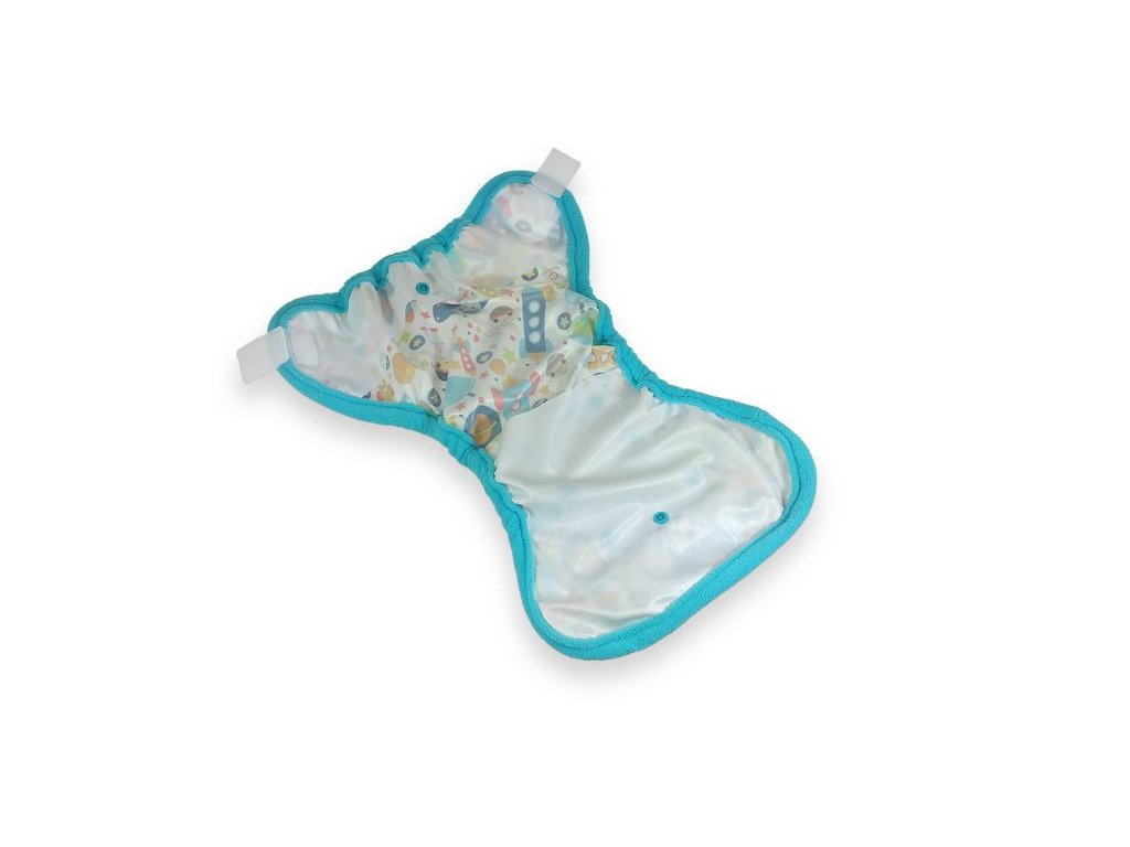Petit Lulu svrchní kalhotky na pleny SLONÍCI 3973cf7301