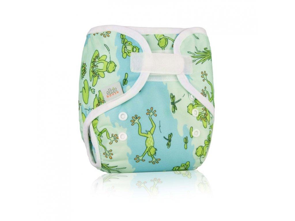Ella´s House Svrchní kalhotky na pleny Bum wrap Froggy (žabky)