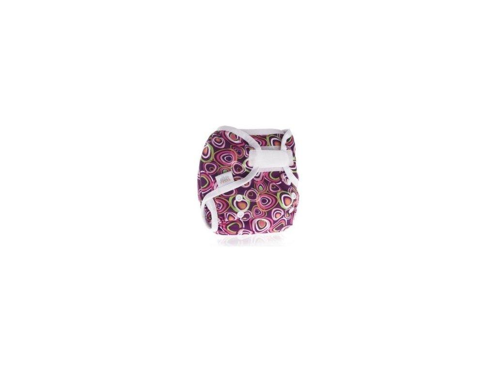 Ella´s House Svrchní kalhotky na pleny Bum wrap PINK LOLLY