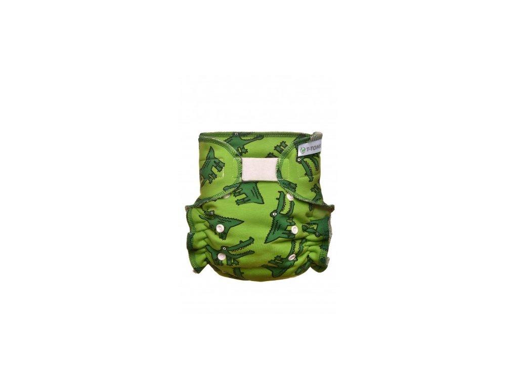 Kalhotková plena přebalovací set suchý zip, crocodiles x 380x475