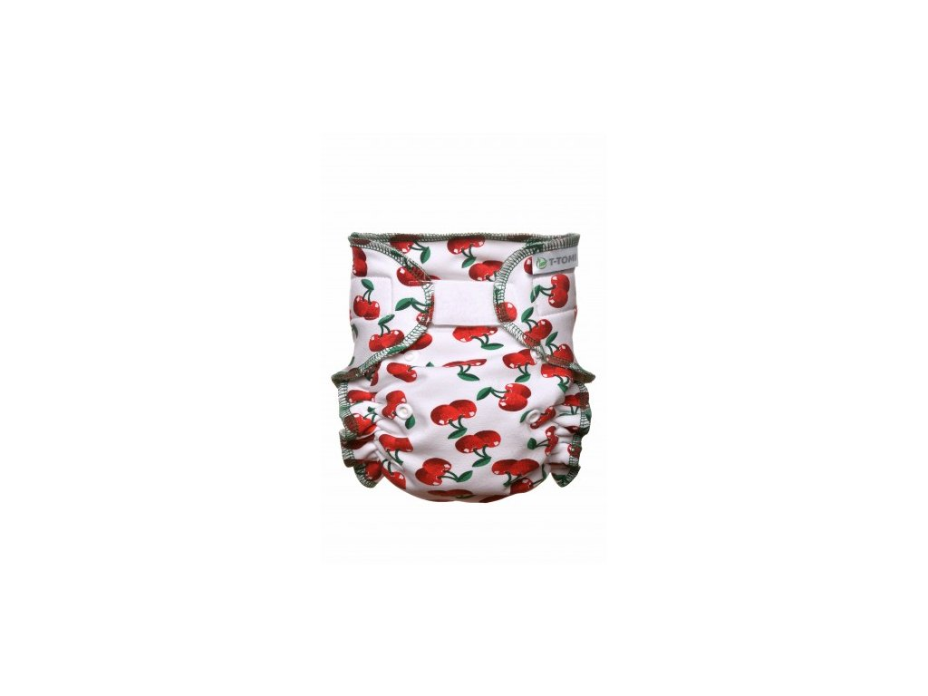 Kalhotková plena přebalovací set suchý zip, cherries x 380x475