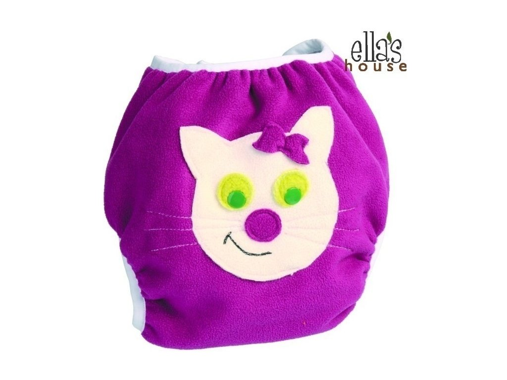 Ella´s House Svrchní kalhotky na pleny Sally Cat