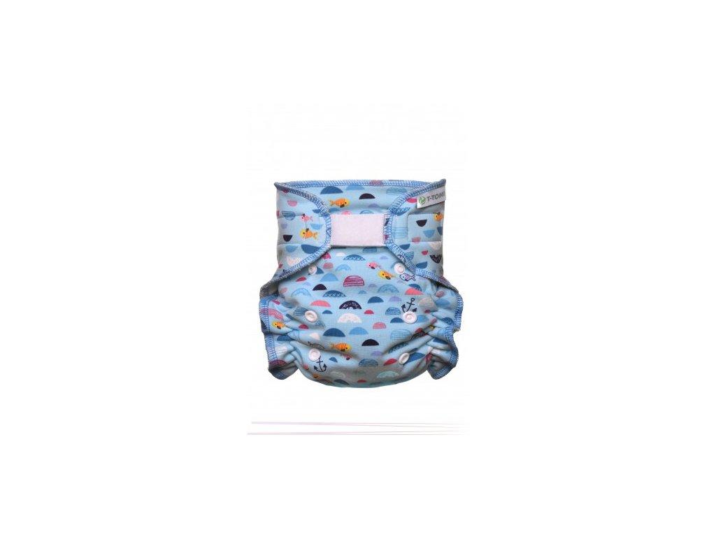 Kalhotková plena přebalovací set suchý zip, blue Sea x 380x475