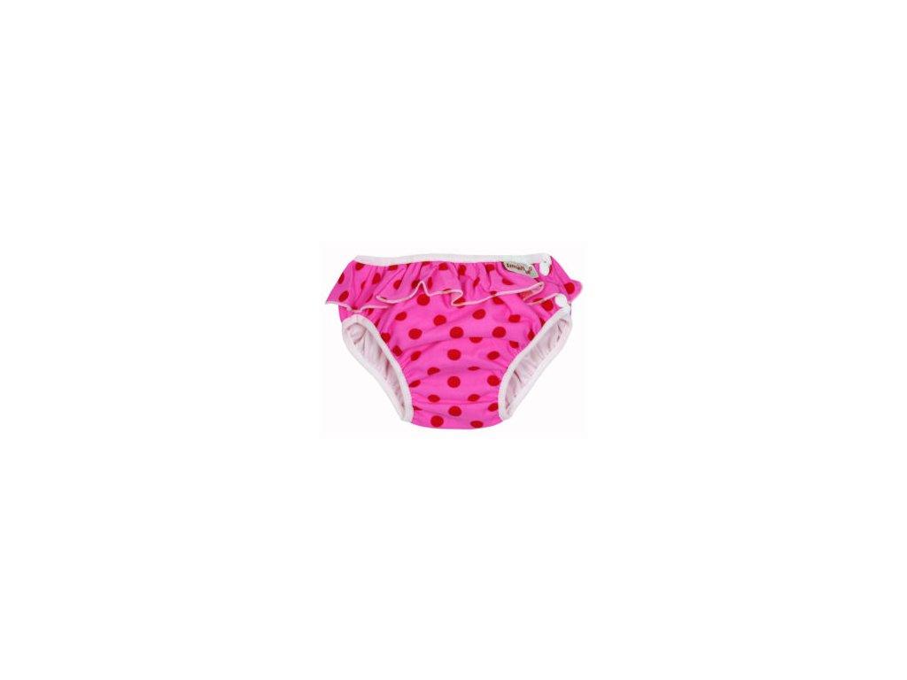 Swim diaper badbyxa pink dots