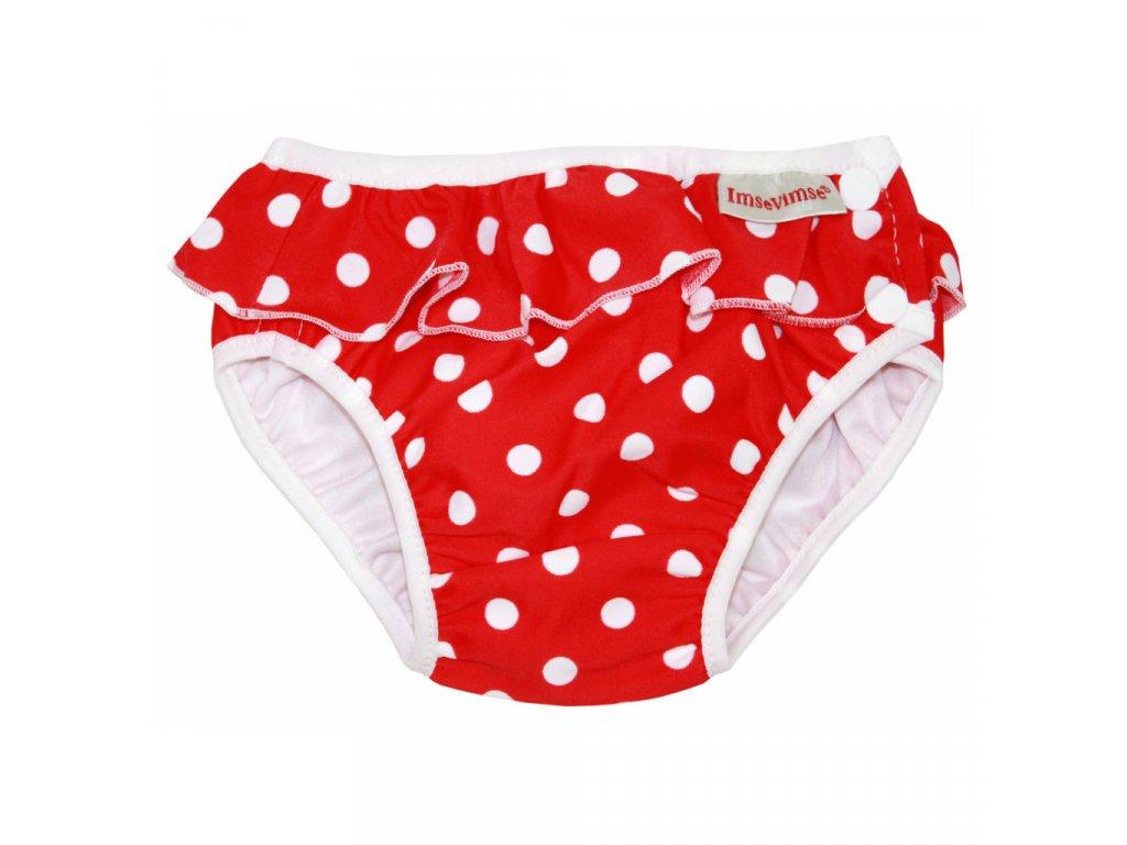 Swim diaper badbyxa red dots 1