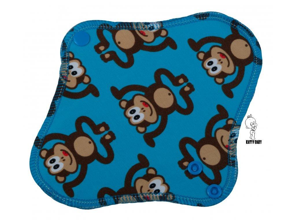 Katyv Baby Intimka - Opice na modré