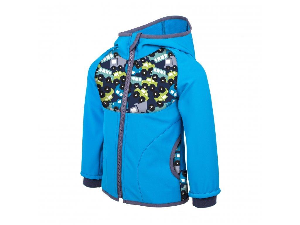 Unuo Softshellová bunda s fleecem AUTÍČKA