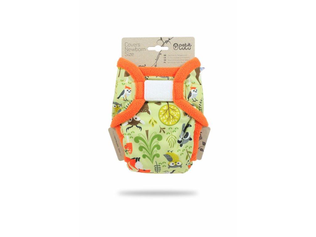Petit Lulu Svrchní kalhotky na pleny Novorozenecké LESNÍ ZVÍŘÁTKA (SZ,PUL)