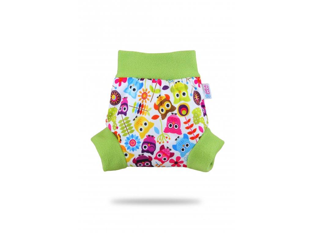 Petit Lulu Pull-up svrchní kalhotky Veselé sovičky (PUL)