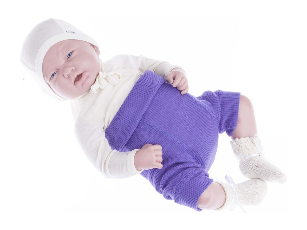 MaM wool shorties - purple peace