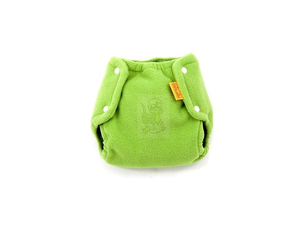 Haipa daipa svrchní kalhotky fleece - zelená