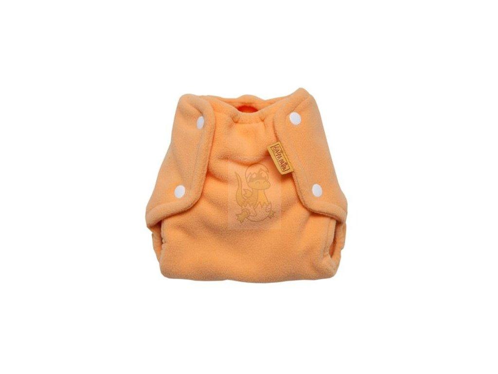Haipa daipa svrchní kalhotky fleece - žloutková