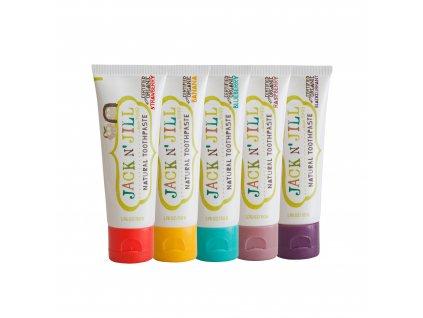 Jack n´ Jill Toothpaste 5 FlavoursContoured