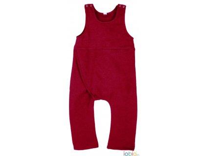Popolini iobio dupačkové kalhoty pro BKM červená