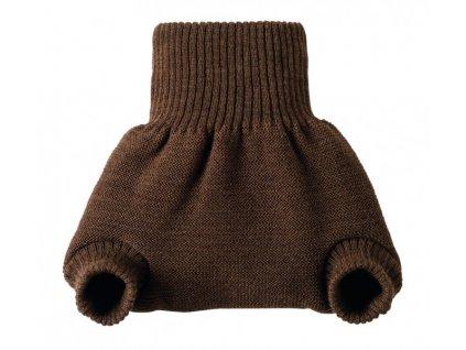 Disana Vlněné svrchní kalhotky na pleny HNĚDÉ