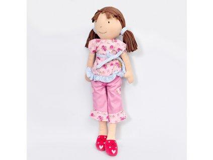 Latkova babika 42cm Whitney ruzova suprava