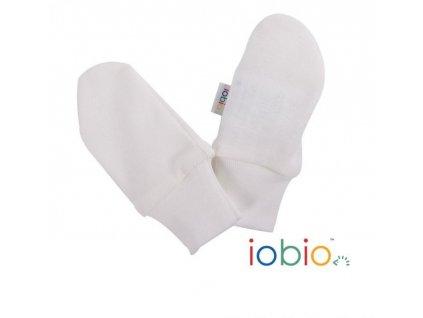 Iobio rukavice pro novorozence 100% Biobavlna