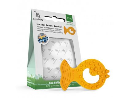 EcoViking Kaučukové kousátko rybička