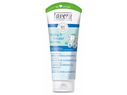 Lavera Dětský vlasový a tělový šampon 200ml