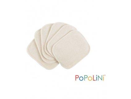 Popolini biobavlněné odličovací tamponky 1ks