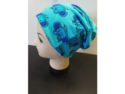 sloni modrá katyv