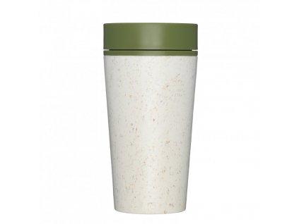 rcup opakovane pouzitelny kelimek na kavu z recyklovanych kelimku zelena cream and green zelenadomacnost