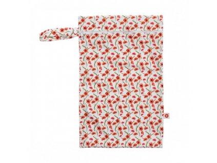 nepromokavy pytlik xkko velikost m red poppies 89e