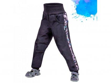 12729 10 unuo detske softshellove kalhoty bez zatepleni street zihana antracitova metricon kluk
