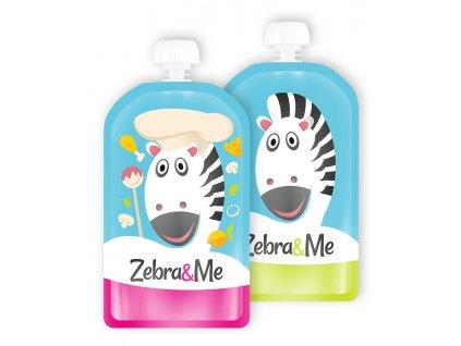 Zebra&Me Kapsička na dětskou stravu 2 ks CHEF