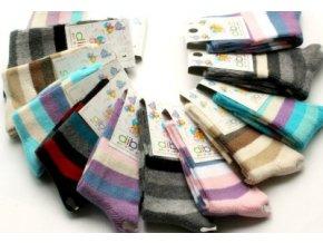 Diba dětské ponožky luxusní bavlna 23-25 Pohlaví: Holka