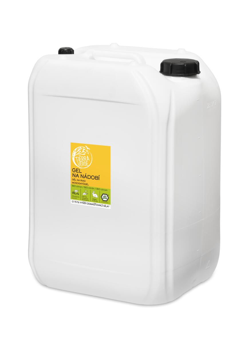 Tierra Verde Gel na nádobí BEZ OBALU 1 kg