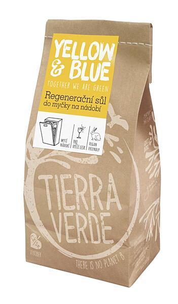Tierra Verde Regenerační sůl do myčky na nádobí papírový sáček 2kg