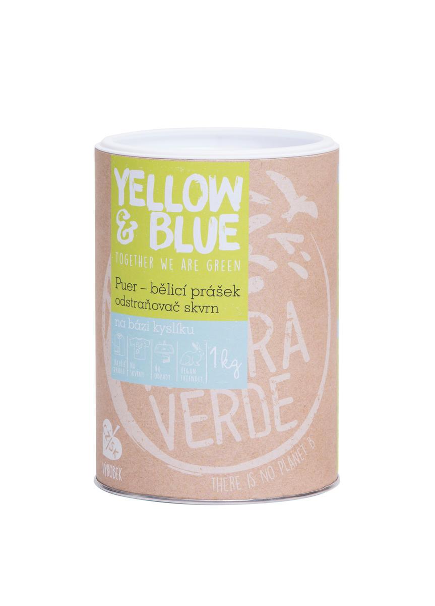 Tierra Verde Bělící prášek a odstraňovač skvrn PUER 1kg dóza