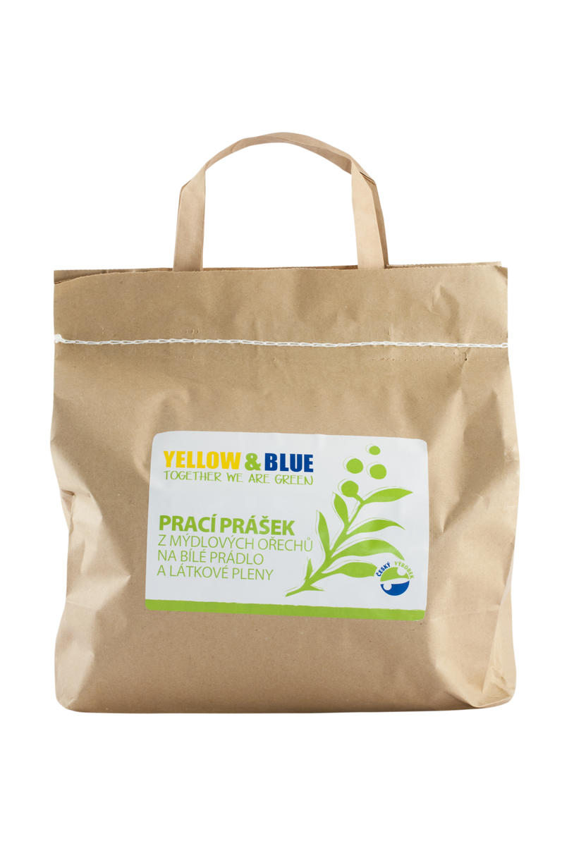 Tierra Verde Prací prášek z mýdlových ořechů na bílé prádlo a látkové pleny 2,5kg