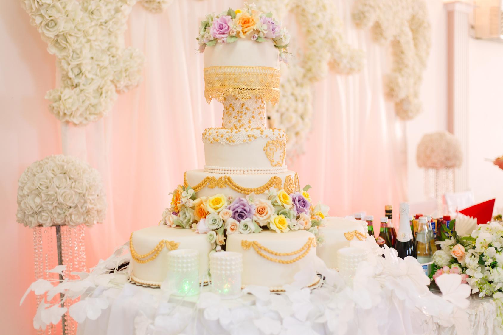 Svatební dort - nové foto