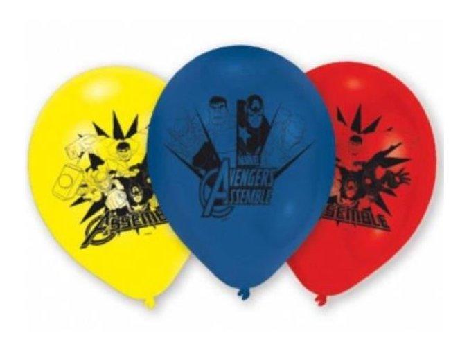 latex balonky avengers