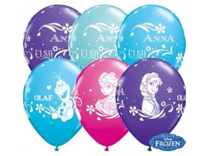 latex balonek frozen 30