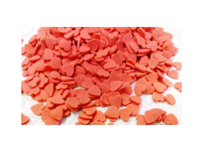 srdíčka červená 2