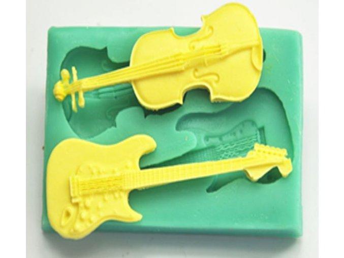 housle a kytara