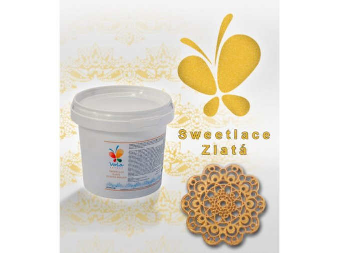 sweet lace zlatá