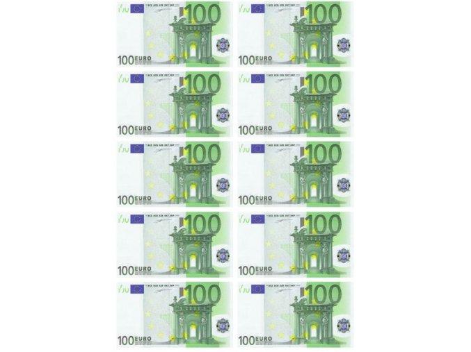 Bankovky 100 EUR