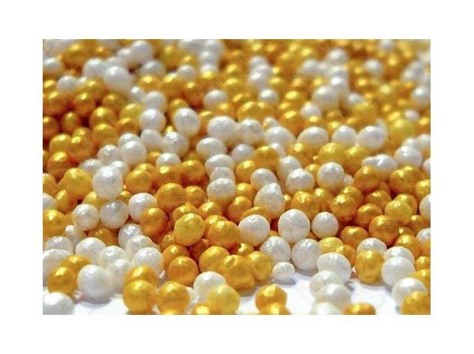 cukr. máček zlato a perleť