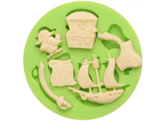 pirát. detaily