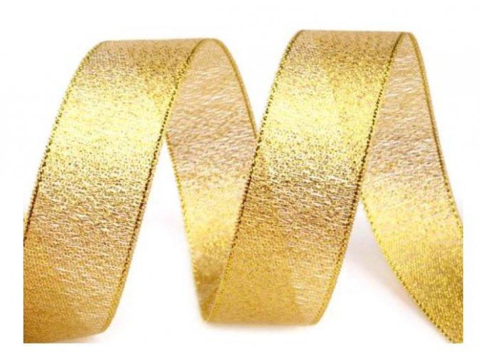 zlatá stuha široká