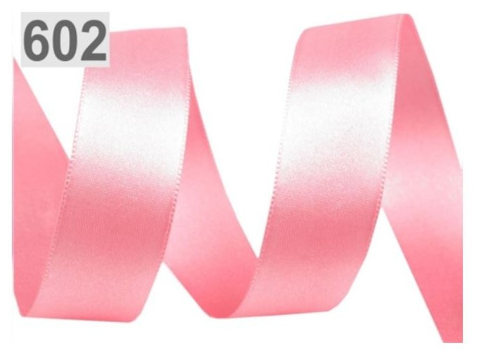 růžová stuha 602