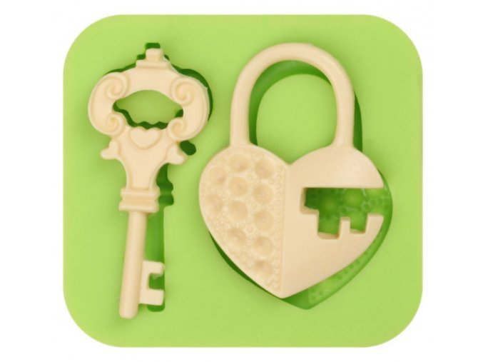 klíč a srdce