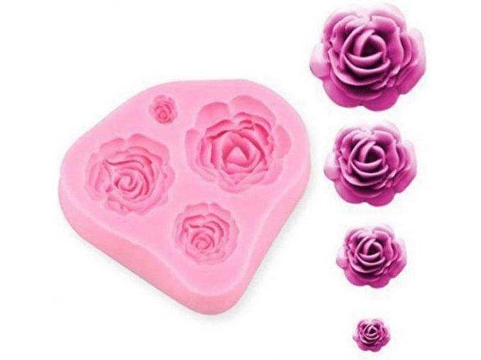 4 růže