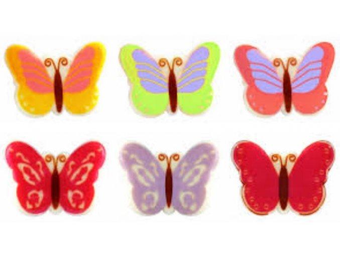 čokol. motýlci