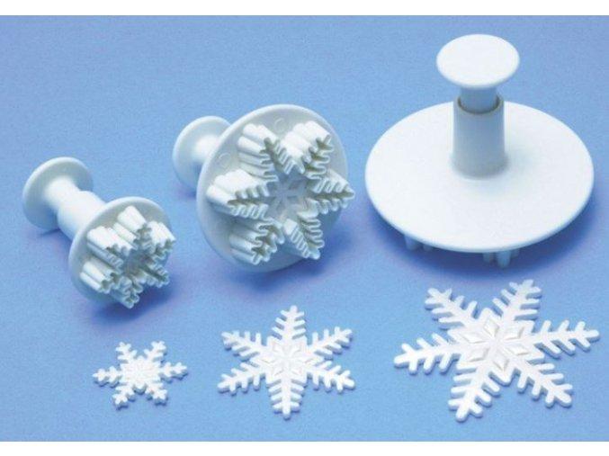 sněhová vločka plastic