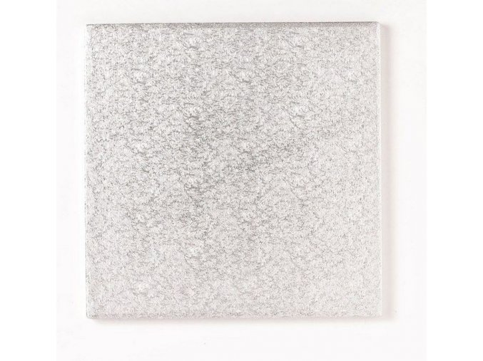 hranatá stříbrná podložka